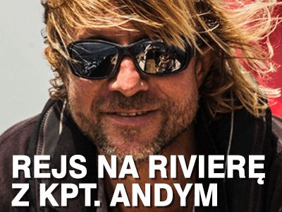 Rejs na rivierę francuską z kapitanem Andym Jankowskim